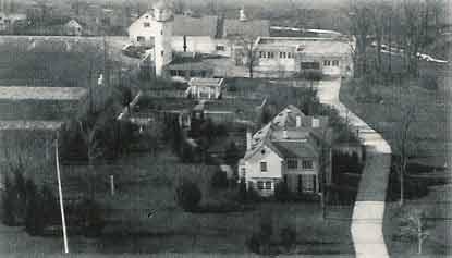 Aerial view of Manresa in 1926
